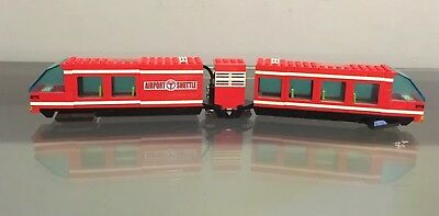Lego Airport Shuttle Monorail From Set 6399 Tested Working