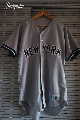 Darryl Strawberry New York Yankees Pro Road Made in USA Baseball Jersey