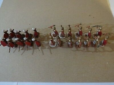 Ral Partha Lot of 23 Egyptian & African, Metal Miniature Ancient Warriors, 1979