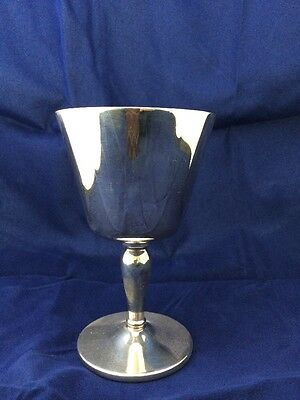 Goblet Silver Plate