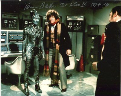 Tom Baker Photo Signed In Person - Doctor Who - E731