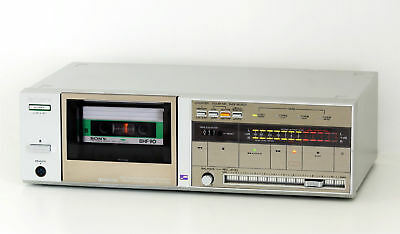 sehr selten - Sony TC YX-50 Stereo Cassettendeck Midi Tape Deck Recorder Metal