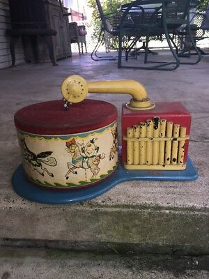 Vintage Child's  Electric Phonograph