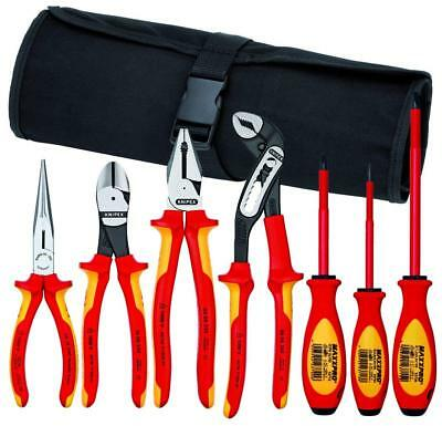 Knipex 9K 98 98 27 US 1000V Pliers and Screwdriver Tool Set in Nylon Pouch