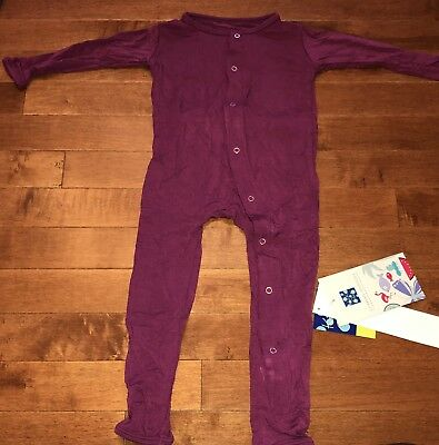 KicKee Pants Toddler Girl Orchid Coverall 18-24 Months New