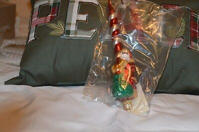 Patricia Breen Vintage 1999 (Pepperment Santa) New In Package. Tag Mint
