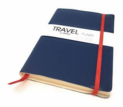 TRAVEL JOURNAL Plain Drawing Sketching Notebook - 96 Sides 150gsm Paper Gift Box