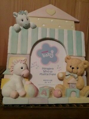 Baby Musical Photo Frame with Horses And Bears