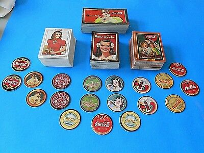 Coca Cola Trading Card Sets And Pogs