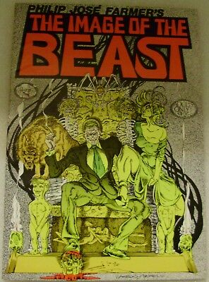 The Image of the Beast, 2nd. Print, Underground Comix, Rand Holmes, Tim Boxell