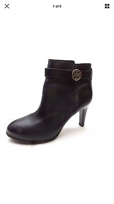 79b152cc6 ... Leather Gold Reva Tall Harness Riding Boots 7.5.  339.95 Buy It Now 6d  0h. See Details. Tory Burch Bristol Calf Bootie - Size 9