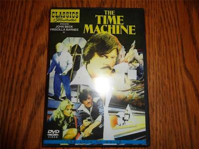 Classics Illustrated THE TIME MACHINE 1978 Made for TV HG WELLS Thriller DVD