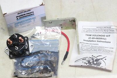 Quicksilver 89-68258A2 Power Trim Solenoid Assembly