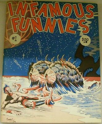 Infamous Funnies, # 1, 1st. Print, Larry Rippee, John M. Pound