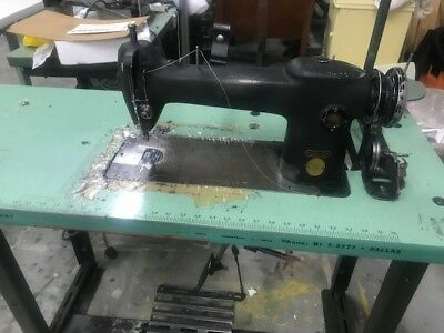 Singer 241-12 Industrial Sewing Machine in working condition,bad motor