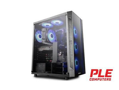Deepcool Matrexx 55 RGB Mid Tower Case w/ Tempered Glass Side Panel [DP-ATX-MATR