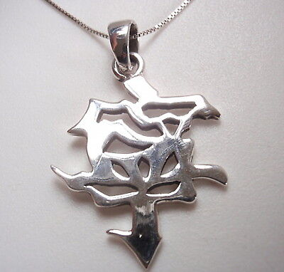 Chinese Character for PEACE Pendant Solid 925 Sterling Silver