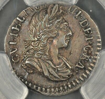 1701 Pcgs Au58 Great Britain 2 Two Pence Twopence S-3551A