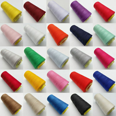 1 Roll Polyester Spool Sewing Thread 3000Yards For Sewing Quilting 25 Colors