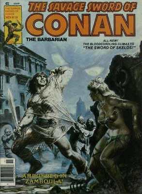 Savage Sword of Conan (1974 series) #58 in Very Fine condition. Marvel comics