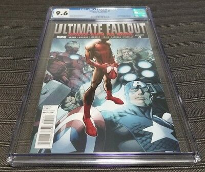 Ultimate Fallout 4 CGC 9.6 1st Appearance of New Spider-Man Miles Morales