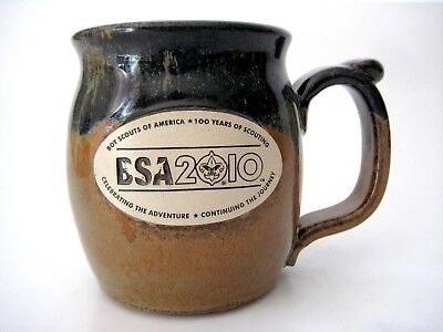 Boy Scouts of America BSA 2010 Coffee Mug Handcrafted in the USA
