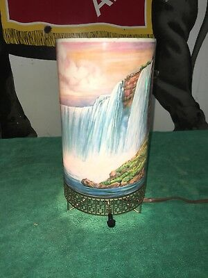 1958 L. A. Goodman Niagara Falls Motion Lamp Nice Original