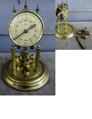ANTIQUE KERR GERMANY ANNIVERSARY CLOCK -- as is for parts or repair