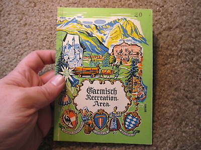 Garmisch Recreation Area US Army in Bavaria late 1940s? VG photos 64 pages