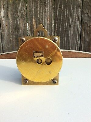 Early Antique 400 day Anniversary Torsion Clock Movement, Parts / Repairs