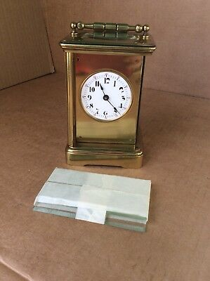 Boston Clock Co.? Carriage Clock Time Only, Parts / Repairs