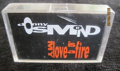"Donny Osmond ""My Love Is A Fire"" Rare Promo lighter"
