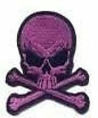 Embroidery / embroidered Biker Patch-Skull Series