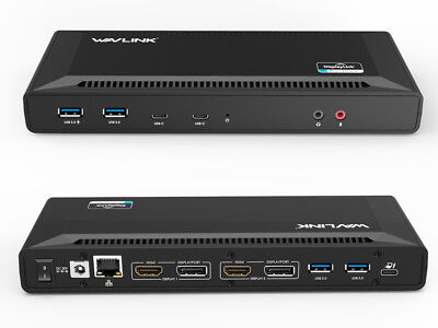 USB-C Power delivery Docking Station,5K/Dual 4K Video Docks&65W PD Charging Dock