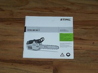 New stihl work shop service manual for ms 201 201t free.