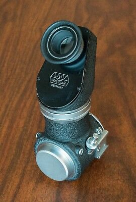 Leitz Wetzlar (Leica) Visoflex 1 with finder and double cable release