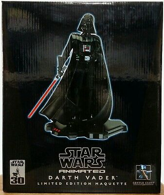 Gentle Giant Star Wars Animated DARTH VADER Limited Edition Maquette (1624/7000)
