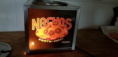 Gold Medal Lighted Nacho Cheese Dispenser Hot Fudge Warmer
