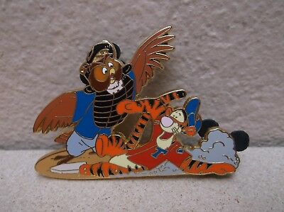 Disney Auctions Baseball Series Tigger And Owl Pin Le100 Winnie The Pooh
