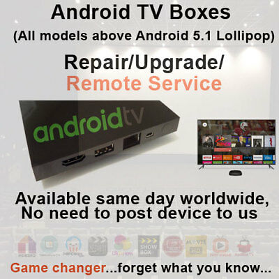 Android TV Box Remote Install & Upgrade Service IPTV & VPN available too