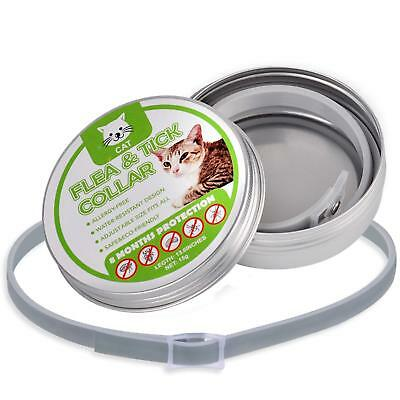 Flea and Tick Collar for Dogs and Cats Plant Pest 8 Months Protection 13 inch
