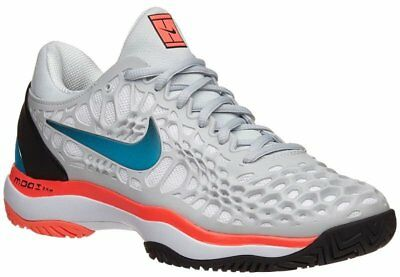 new concept dfb87 0cf2a Size 6 Nike Air Zoom Cage 3 Womens Tennis Shoes Platinum Blue Nebula 918199  046