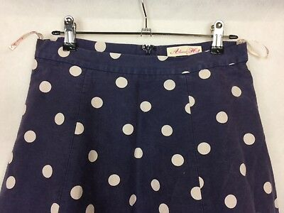 ALANNAH HILL Sz 10 He Doesn't Have my Heart Skirt 70% Cotton/30% Silk FREE POST!