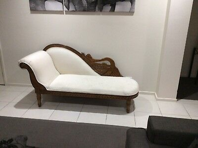 Day Bed Chaise Lounge Antique Beautiful