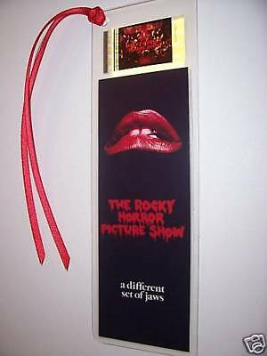 ROCKY HORROR PICTURE SHOW Rare Movie Film Cell Bookmark