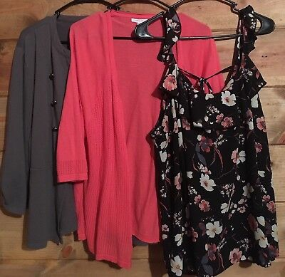 Maurices Plus Size 3 Lot Of 3 Tops
