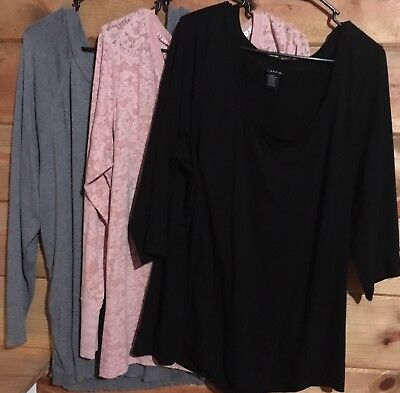 Lot Of 3 Maurices, Torrid Plus Size 3X Tops