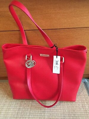 3f2dab86c22a NEW Authentic VERSACE Burgundy Red Leather Bag Purse Medusa Tote Handbag   1350