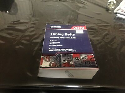 Autodata Timing Belt Book 2010 Domestic And Imported 1995-2010