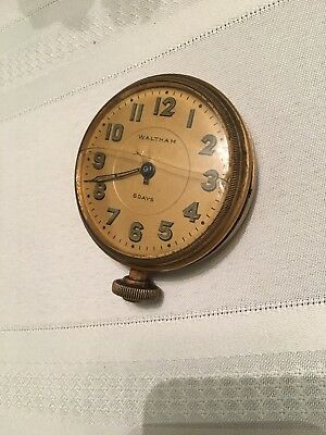 Waltham 8 Day Automobile Or Large Pocket Watch Parts Repair